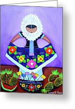 Tehuana Greeting Card
