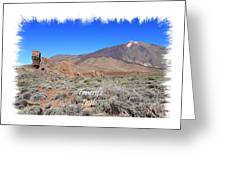 Teide Greeting Card