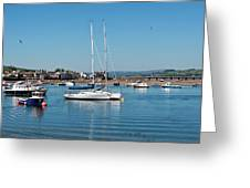 Teignmouth Harbour Greeting Card