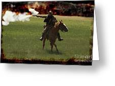 Tejano Cavalry Greeting Card