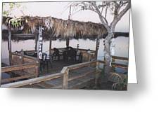 Teka Hut Greeting Card