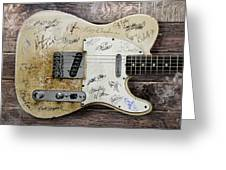 Telecaster Guitar Fantasy Greeting Card