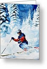 Telemark Trails Greeting Card