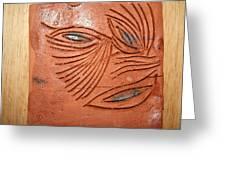 Tell Eye - Tile Greeting Card