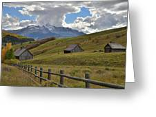Telluride Countryside Greeting Card