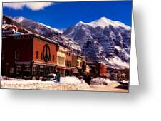 Telluride For The Holiday Greeting Card