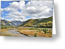 Telluride Natural Area Greeting Card