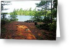 Temagami Island Campsite I Greeting Card