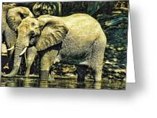 Tembo Greeting Card