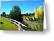 Temecula Scenery Greeting Card