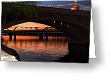 Tempe Bridges Greeting Card