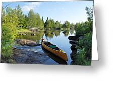Temperance River Portage Greeting Card