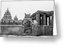 Temple Architecture Greeting Card