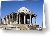 Temple At Fort Kumbhalgarh Greeting Card