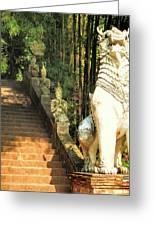 Temple Dog Greeting Card