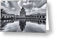 Temple Of Reflction Greeting Card