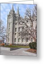 Temple Walk Greeting Card