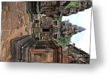 Temples Siem Reap Cambodia Worship  Greeting Card