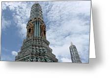 Temples, Thailand Greeting Card