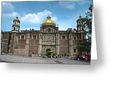 Templo Expiatorio A Cristo Rey - Mexico City Greeting Card