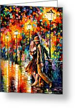 Tempter Greeting Card by Leonid Afremov