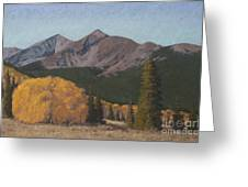 Ten Mile Autumn Greeting Card