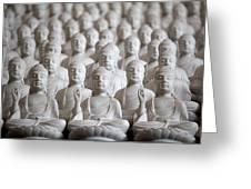 Ten Thousand Buddhas Greeting Card