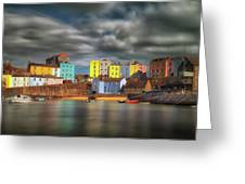 Tenby Harbour Pembrokeshire Greeting Card