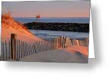 Tender Beach Light Greeting Card