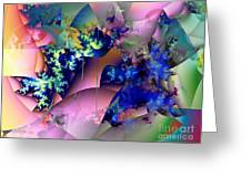 Tending Toward Flowers Greeting Card