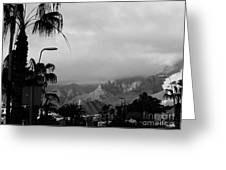 Tenerife Mountains Greeting Card