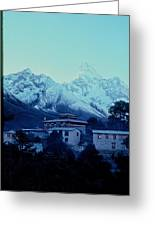 Tengboche Monastery Greeting Card