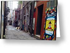 Tennessee Alley Greeting Card by Joyce Kimble Smith