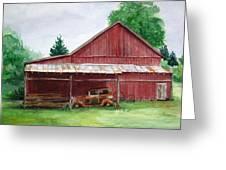 Tennessee Barn Greeting Card