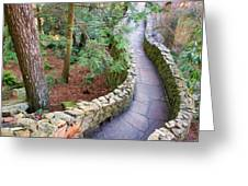 Tennessee Mountain Path Greeting Card