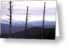 Tennessee Mountains Greeting Card