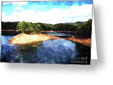 Tennessee Reservoir Greeting Card