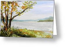 Tennessee River In The Fall Greeting Card