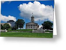 Tennessee State Capitol Nashville Greeting Card