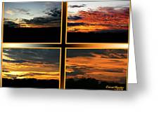 Tennessee Sunset Greeting Card