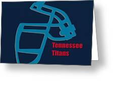 Tennessee Titans Retro Greeting Card