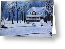 Tennessee Winter In The Smokies Greeting Card