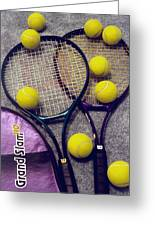 Tennis Still Life 2 Greeting Card