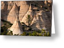 Tent Rocks Wilderness Greeting Card