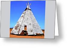 Tepee Trading Post Greeting Card