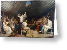 Tepidarium, 1853 Greeting Card