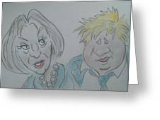 Teresa And Boris Greeting Card