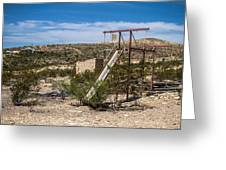 Terlingua Ghost Town #5 Greeting Card