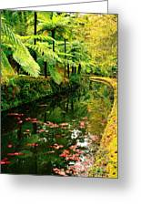 Terra Nostra Park Greeting Card