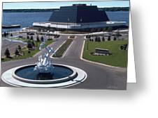 Terrace Point Muskegon Michigan Greeting Card